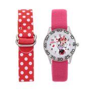 Disney's Minnie Mouse Kids' Time Teacher Watch Set