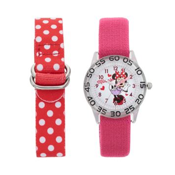 Disney's Minnie Mouse Kids' Time Teacher Watch Set