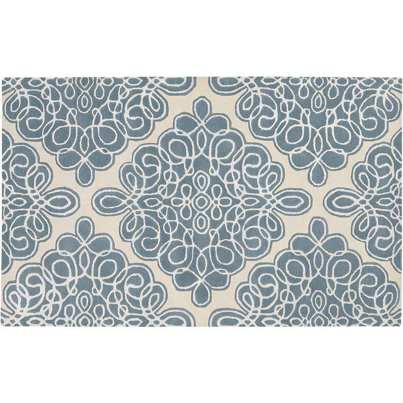 Decor 140 Modern Classics Wool Rug, Blue, 8X11 Ft