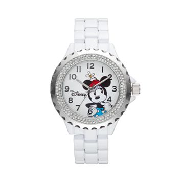 Disney's Minnie Mouse Women's Crystal Watch
