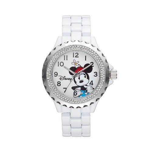 Disney's Minnie Mouse Women's Crystal Watch