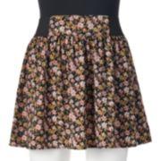 Joe B Bold Print Juniors' Skirt