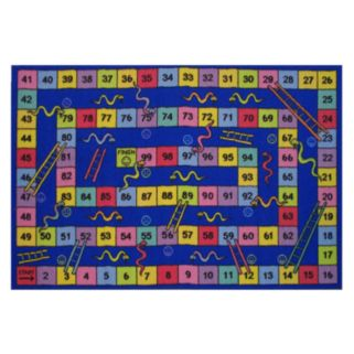 Fun Rugs Fun Time Snakes & Ladders Rug