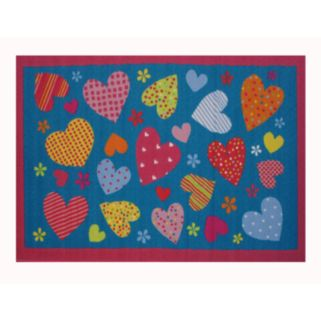 Fun Rugs Fun Time Hearts Rug