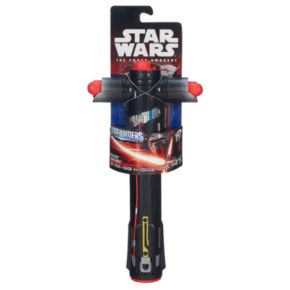 Star Wars: Episode VII The Force Awakens Kylo Ren BladeBuilders Extendable Lightsaber by Hasbro
