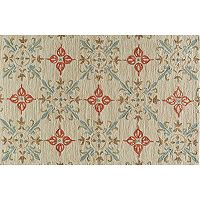 Momeni Summit Lattice Floral Rug