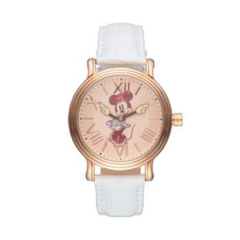 Disney's Minnie Mouse Women's Leather Watch