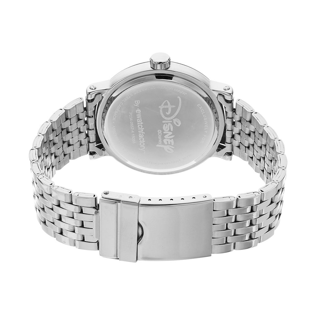 Disney's Minnie Mouse Men's Stainless Steel Watch