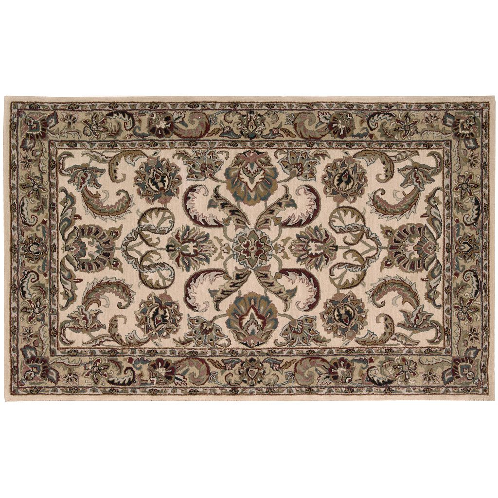 India House Framed Fern Wool Rug