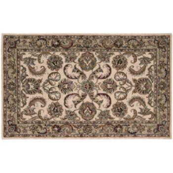 India House Framed Fern Wool Rug