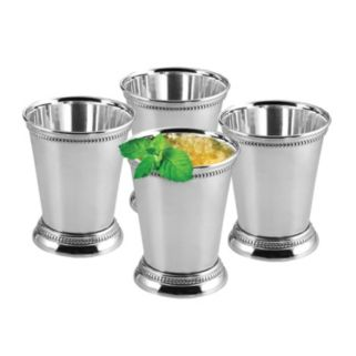 OGGI 4-pc. Stainless Steel Mint Julep Cup Set