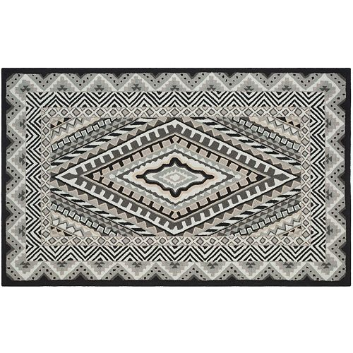 Safavieh Four Seasons Albertson Framed Geometric Indoor Outdoor Rug