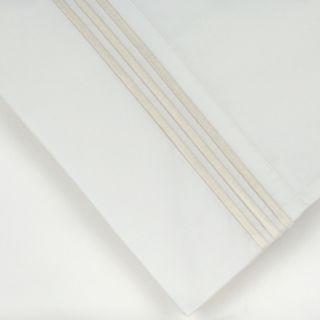 Pointehaven 300-Thread Count Embroidered 2-pc. Euro Sham Set