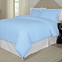 Pointehaven 300-Thread Count Printed Duvet Cover Set