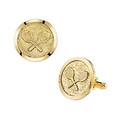 1928 Tennis Racket Cuff Links
