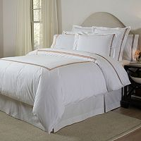 Pointehaven 300-Thread Count 3 pc Embroidered Duvet Cover Set