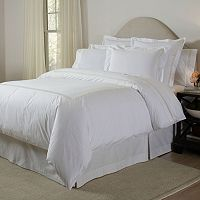 Pointehaven 300-Thread Count 3-pc. Embroidered Duvet Cover Set
