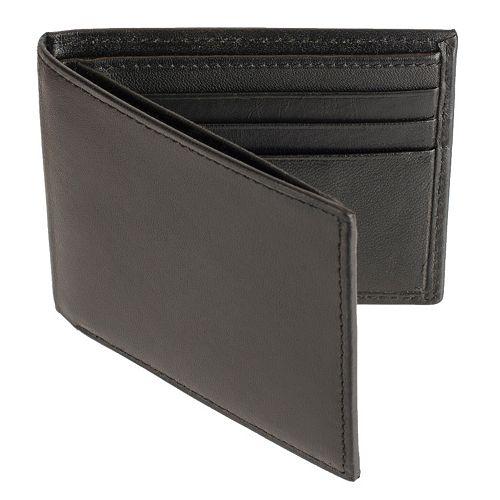 Men's Croft & Barrow® Extra-Capacity Traveler Wallet