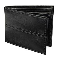 Croft & Barrow Extra Capacity Middle Stitch Slimfold Wallet
