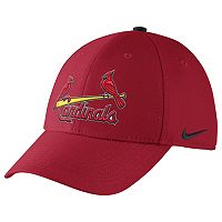 Adult Nike St. Louis Cardinals Dri-FIT Swoosh Flex-Fit Cap