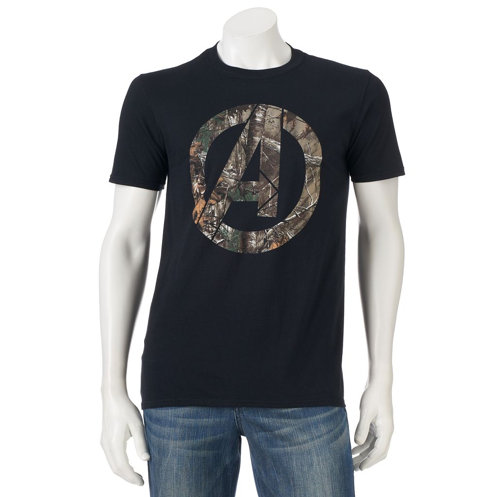 Marvel The Avengers Realtree Logo Tee - Men