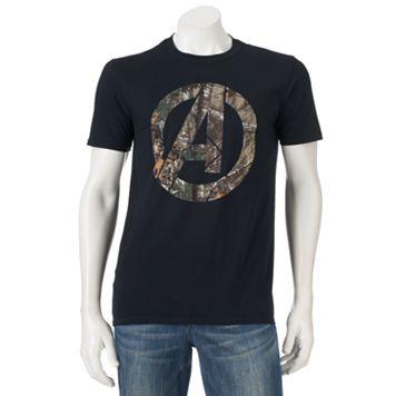 Marvel The Avengers Realtree Logo Tee - Men