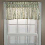 Ellis Curtains Cynthia Stripe Window Valance - 70'' x 12''