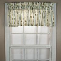 Ellis Curtains Cynthia Stripe Window Valance - 70'' x 12''