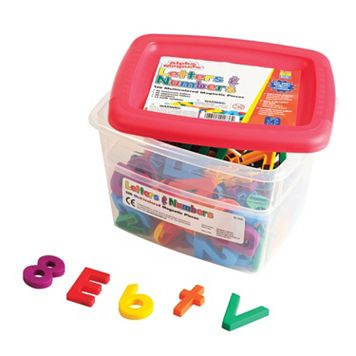 Educational Insights Multicolored Alpha & Math Magnets