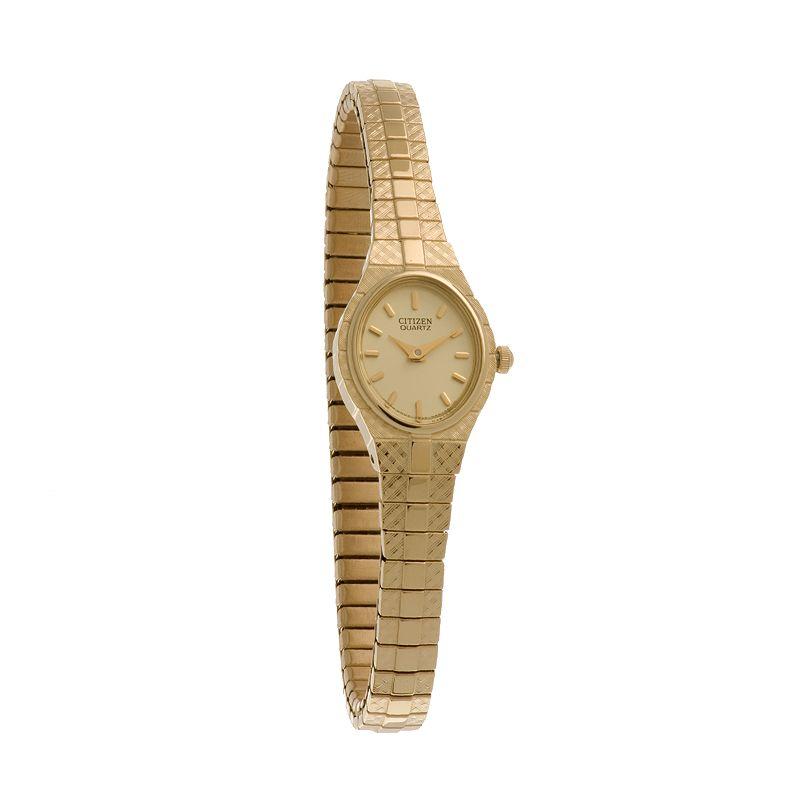 Citizen Gold Tone Expansion Watch - EK3682-97P - Women
