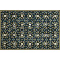 Momeni Veranda Medallion Indoor Outdoor Rug