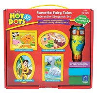 Hot Dots Jr. Favorite Fairy Tales Storybook Set by Educational Insights