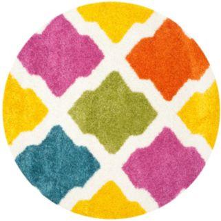 Safavieh Kids Razzle Dazzle Geometric Shag Rug