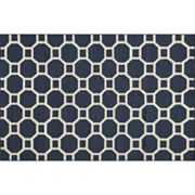 Momeni Dhurry Laguna Honeycomb Lattice Wool Rug