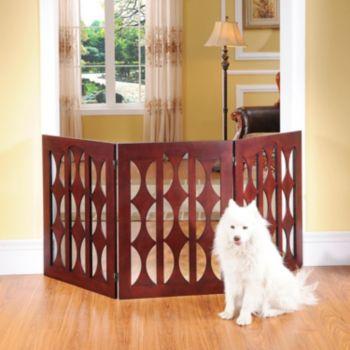 Elegant Home Fashions Emma 3-Panel Pet Gate