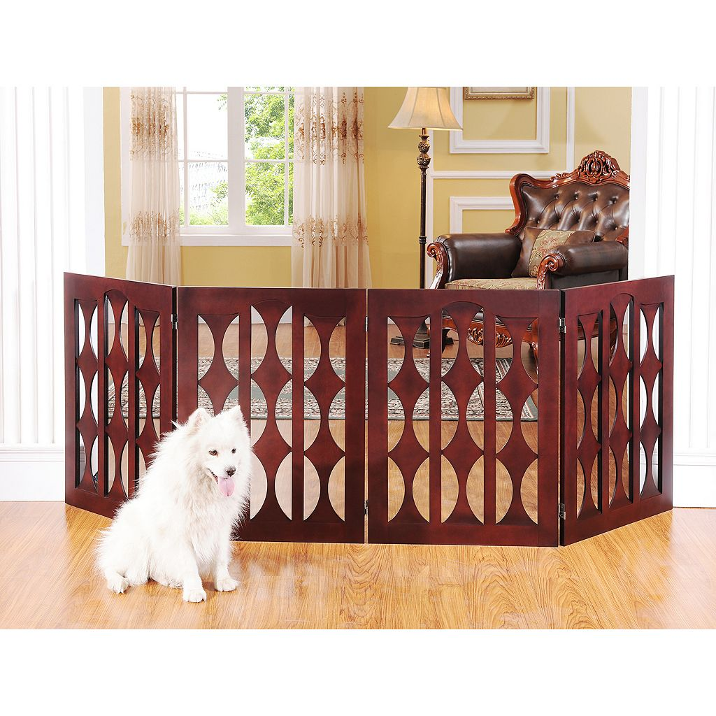 Elegant Home Fashions Emma 4-Panel Pet Gate
