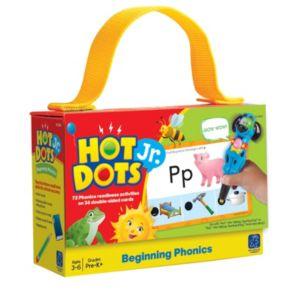 Hot Dots Jr. Beginning Phonics Card Set by Educational Insights