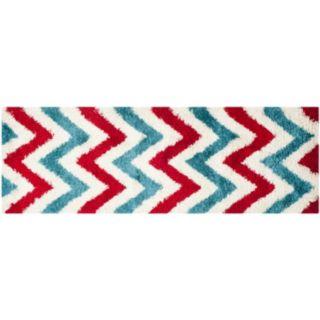 Safavieh Kids Chevron Stripe Shag Rug