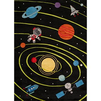 Momeni Lil Mo Whimsy Space Galaxy Rug
