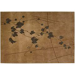 Somerset Floral Leaf Rug