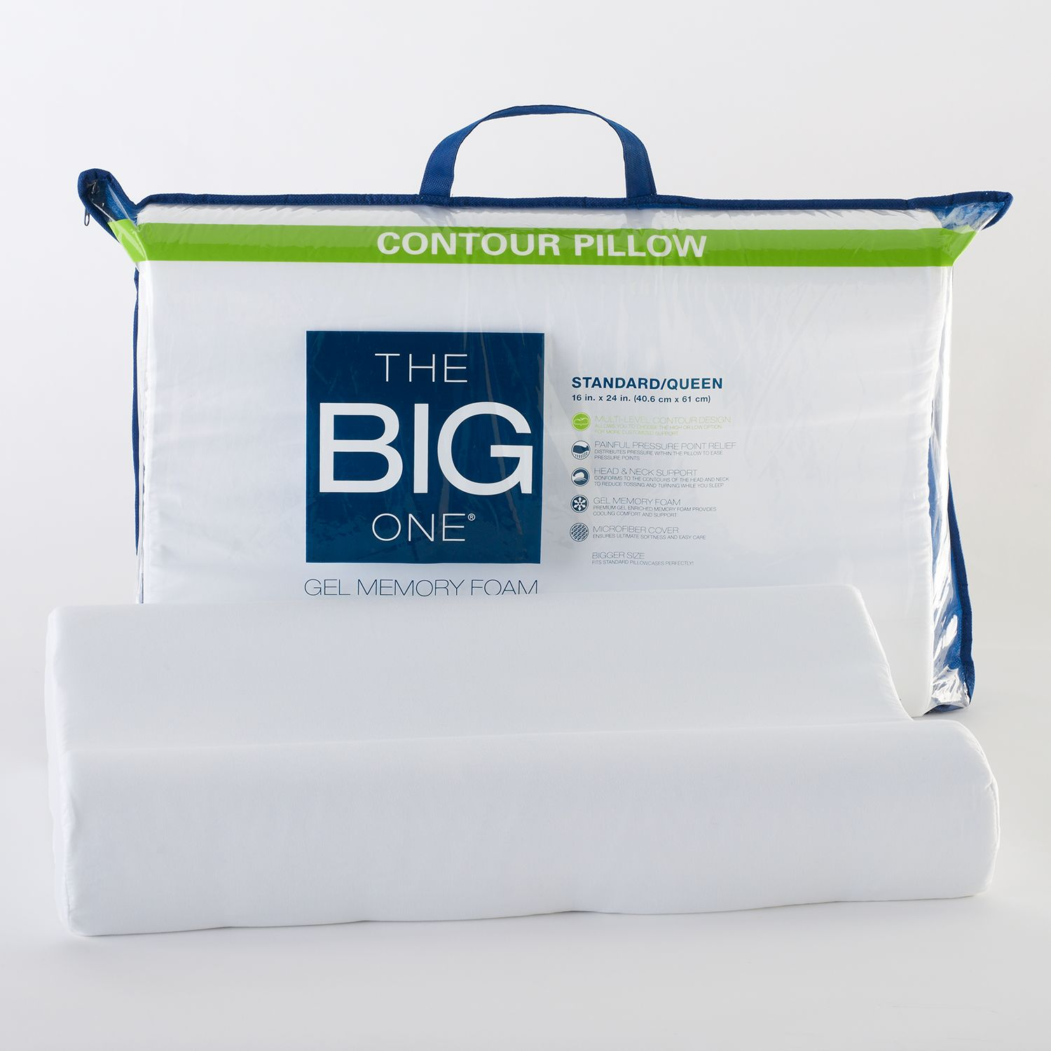 the big one gel memory foam contour pillow - Tempurpedic Pillows