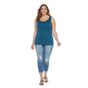 Plus Size SONOMA Goods for Life™ Essential Tank