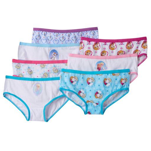 Disney Frozen Girls 7-pk. Hipster Underwear