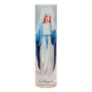 The Saints Collection Lady of Miracles Flameless LED Prayer Candle