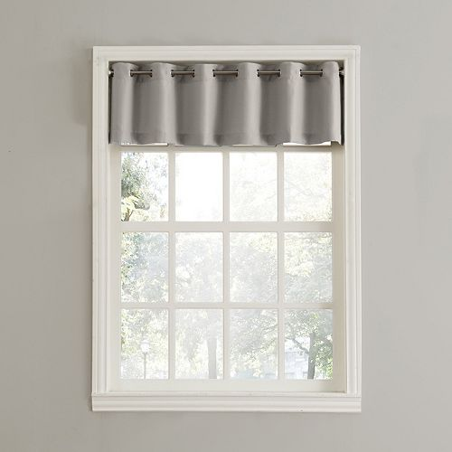 Top of the Window Donahue Straight Window Valance