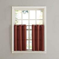 Top of the Window Donahue 2 pkTier Curtains