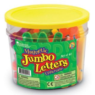 Learning Resources Jumbo Uppercase Magnetic Letters