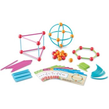 "Learning Resources Dive Into Shapes A ""Sea"" & Build Geometry Set"