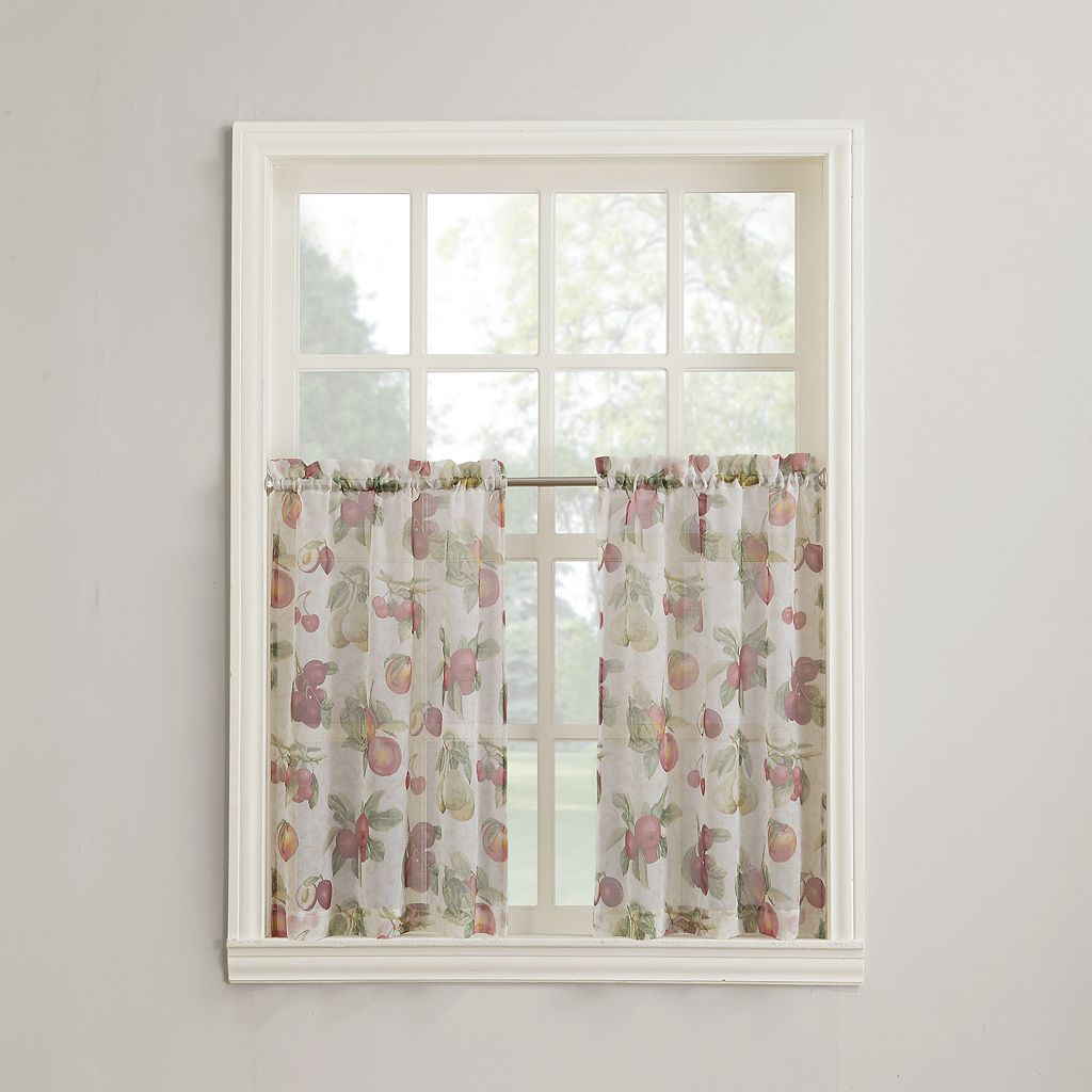 Top of the Window Summer Orchard 2-pk. Tier Curtains