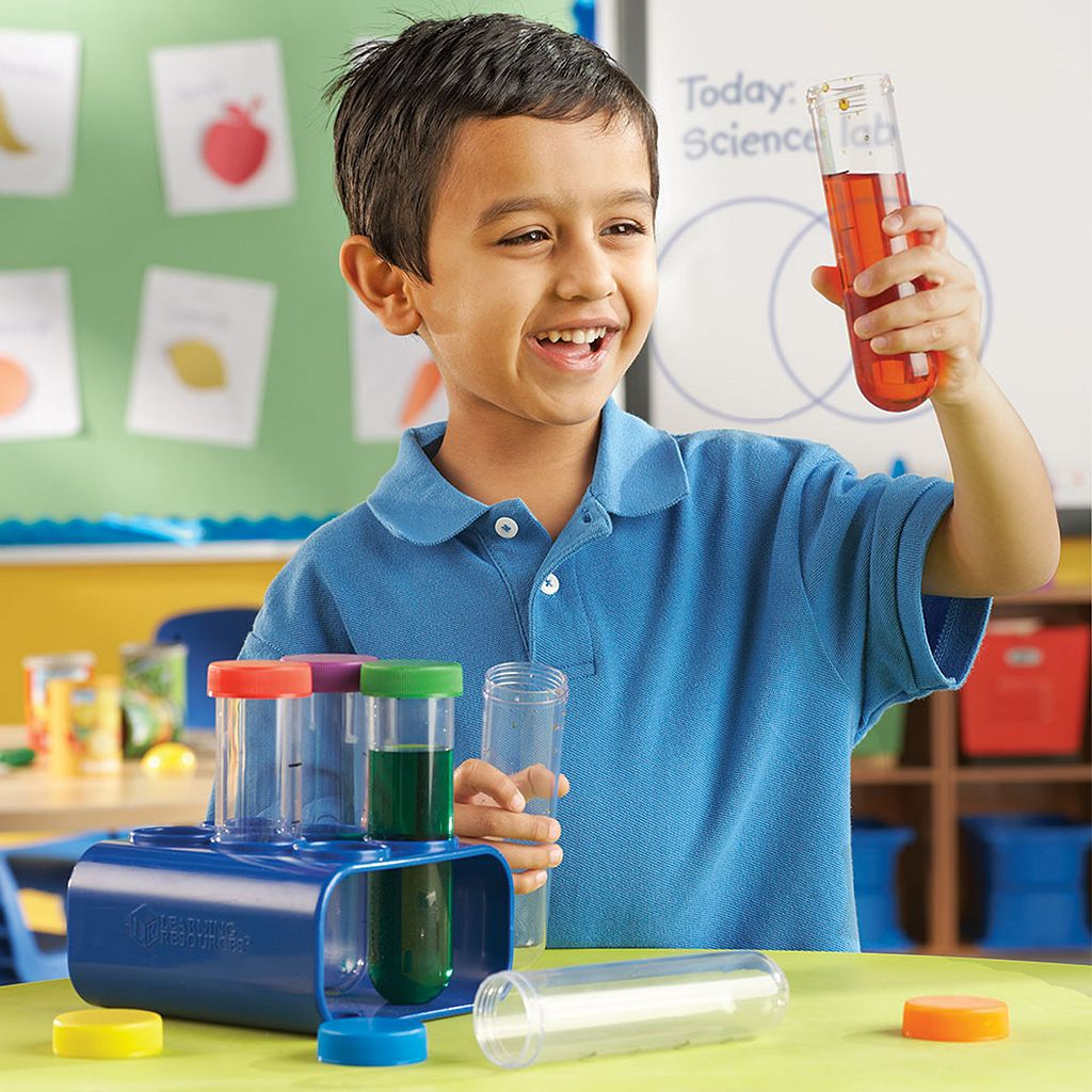 Learning Resources Primary Science Jumbo Test Tubes Set